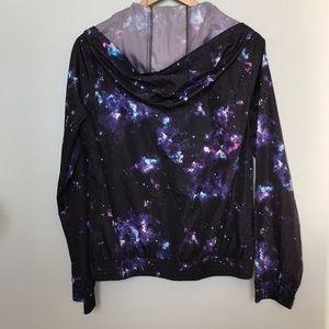 Zine Clothing Jackets & Coats - Zine Celestial Windbreaker Hoodie - M